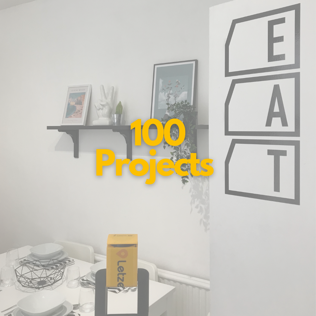Letzee reaches 100 Projects